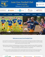 sports club website