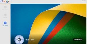 customizing google plus business page