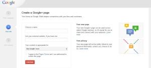 google plus add info